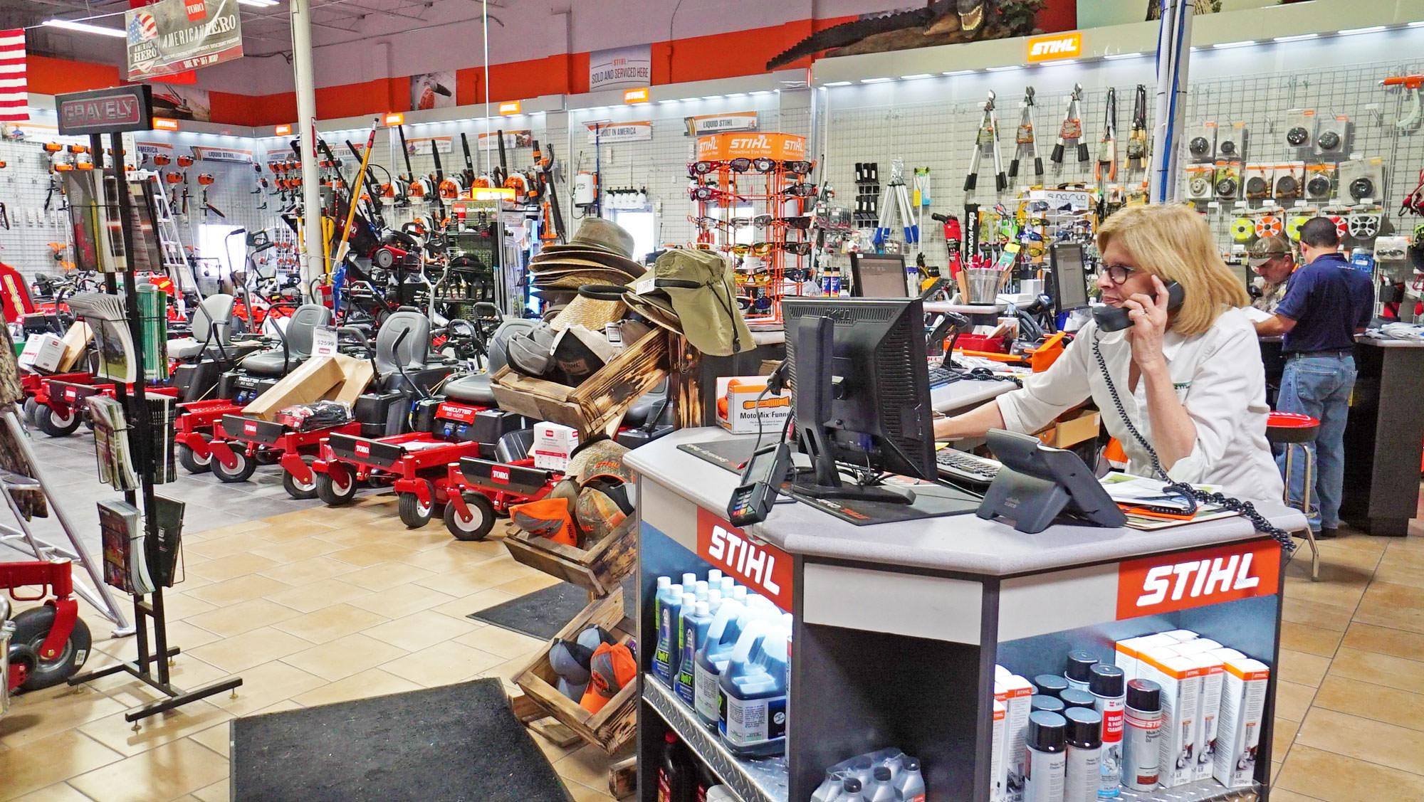 Main Street Mower Showroom