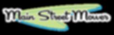 Main Street Mower Logo