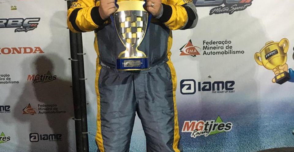 Vice Campeão - Piloto Cacau Nunes