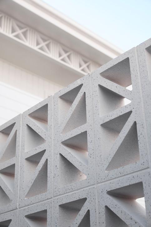 The Point Bulli, exterior detail