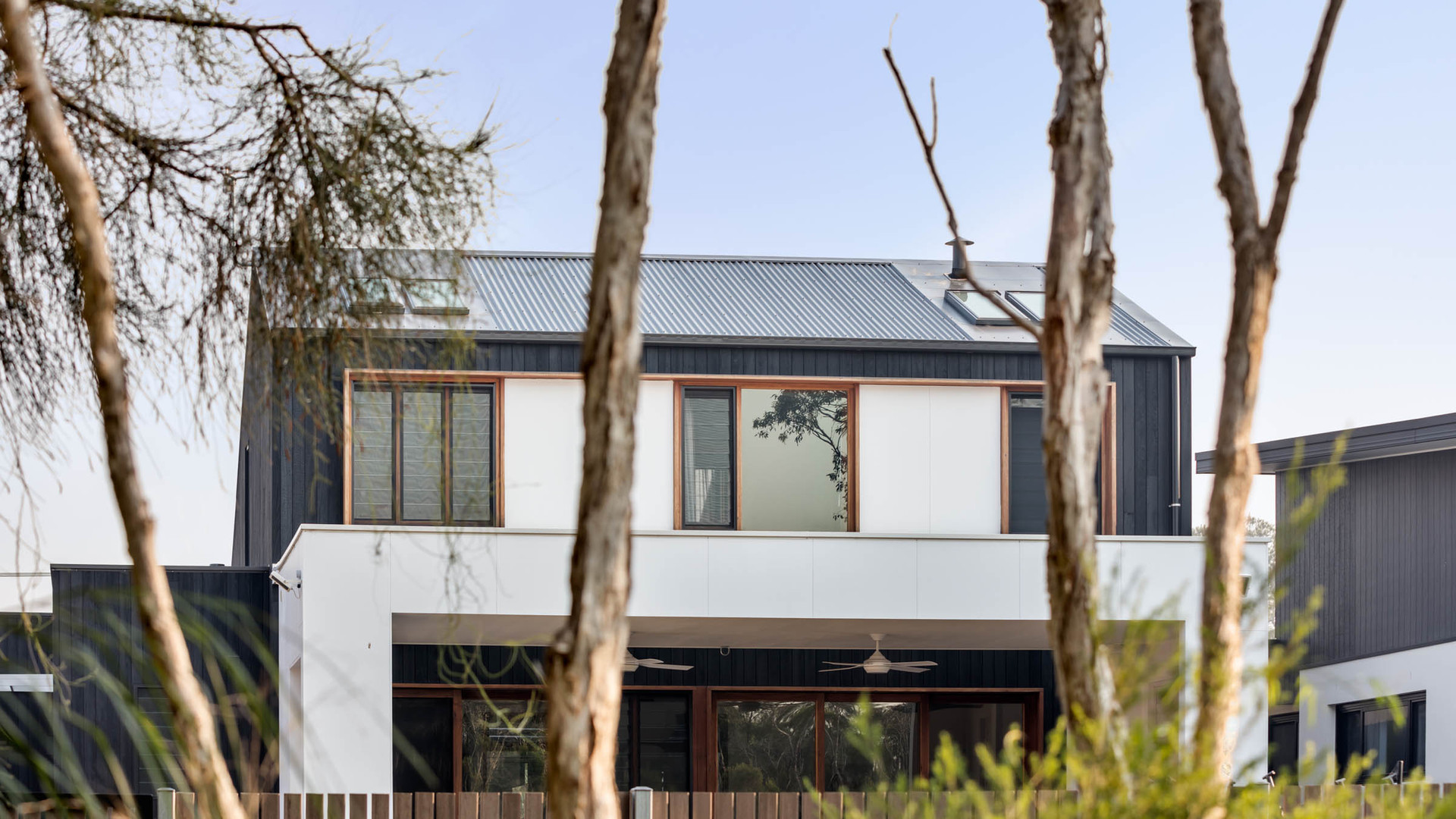 Japandi House Towradgi, back exterior