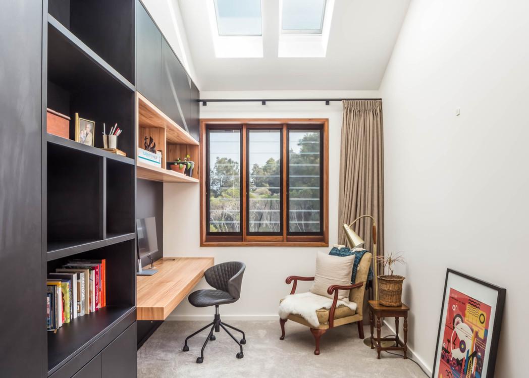 Japandi House Towradgi, home office