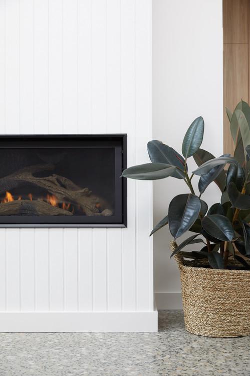 St Johns Mangerton, fireplace