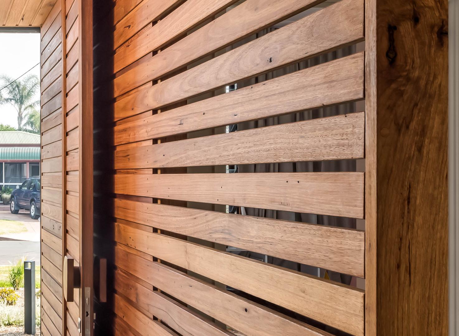 Japandi House Towradgi, timber detail