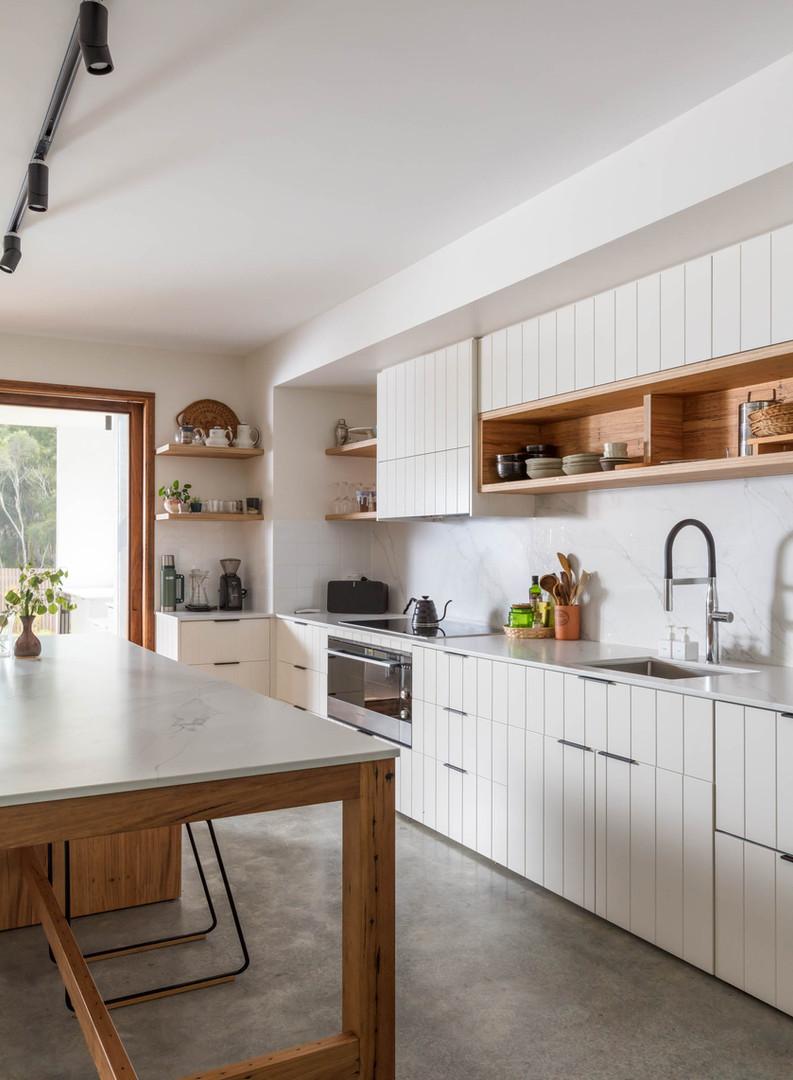Japandi House Towradgi, kitchen