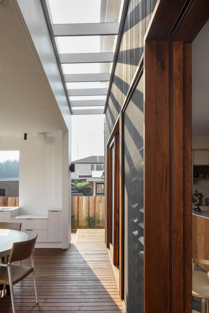Japandi House Towradgi, deck