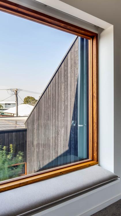 Japandi House Towradgi, window detail
