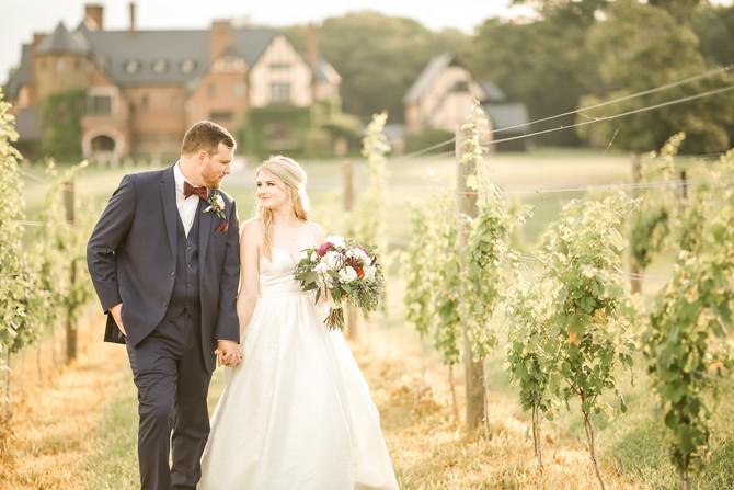 Lauren and Chris | Married | Dover Hall, Manakin Virginia