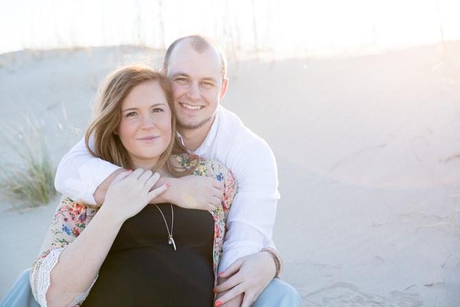 Ashleigh and Trey | Virginia Beach Maternity