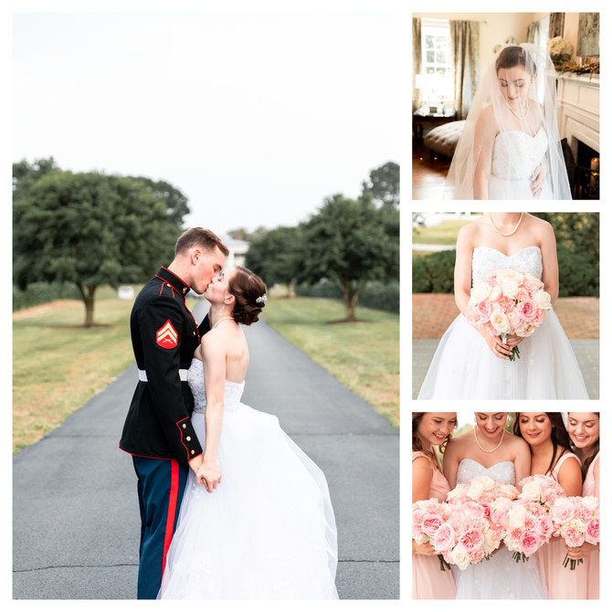 Meghan + Corey | Married | Hollyfield Manor | Manquin, Virginia