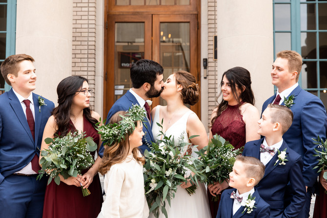The Stadlers | Married | Historic Post Office | Hampton, Virginia