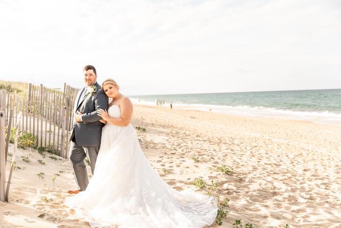 Gold Wedding | Kitty Hawk | Outer Banks, North Carolina