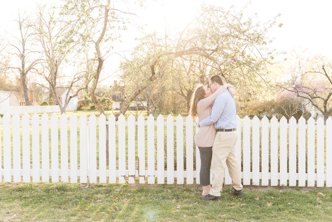 Anna and Patrick | Colonial Williamsburg Engagements
