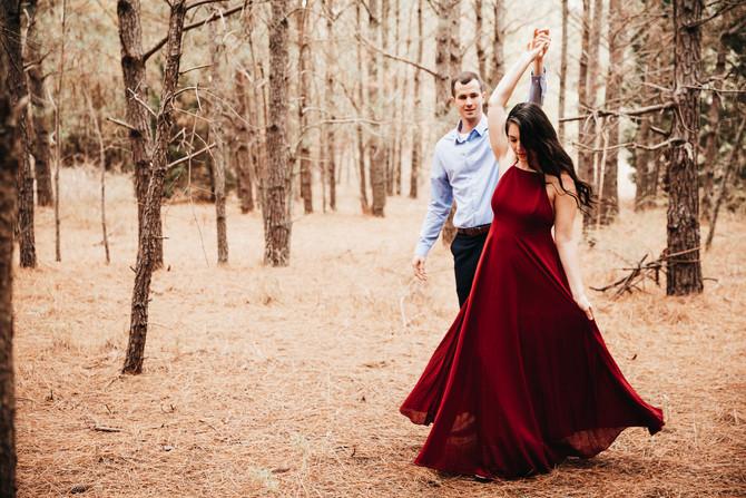 Elizabeth + Eric | Engagement | Pleasure House Point