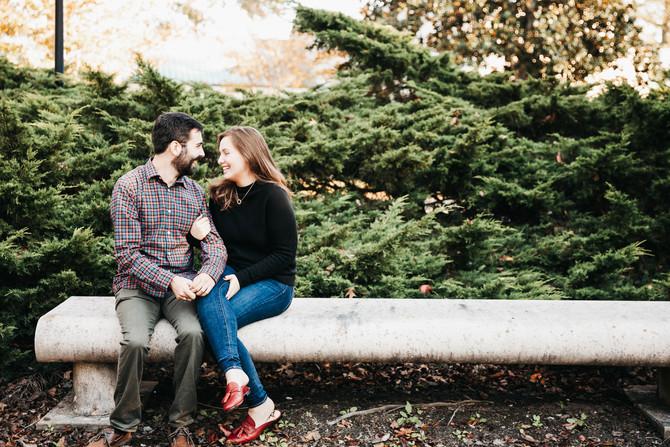 Chris + Adrienne | Engaged | Noland Trail