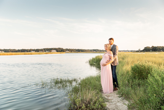 Insley and Casey | Maternity | Virginia Beach, Virginia