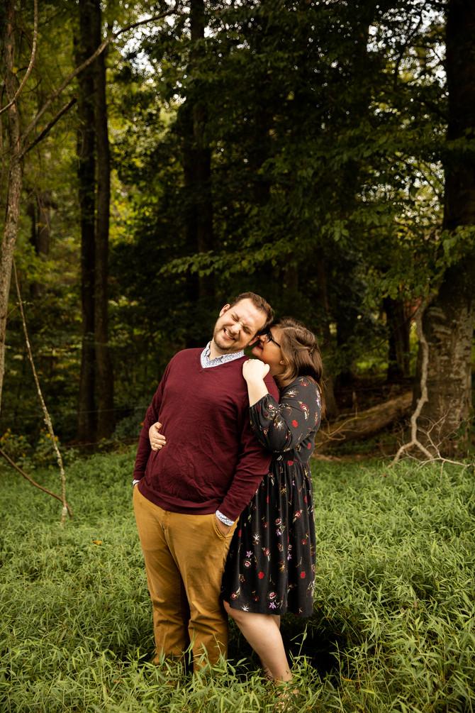 Elizabeth + Jake | Engagements | Williamsburg