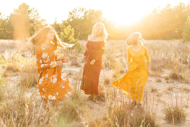 Hare Family | Fall Minis | Pleasure House Point | Virginia Beach, Virginia