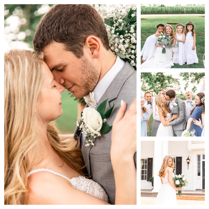 Wenner Wedding | Hollyfield Manor | Virginia Wedding