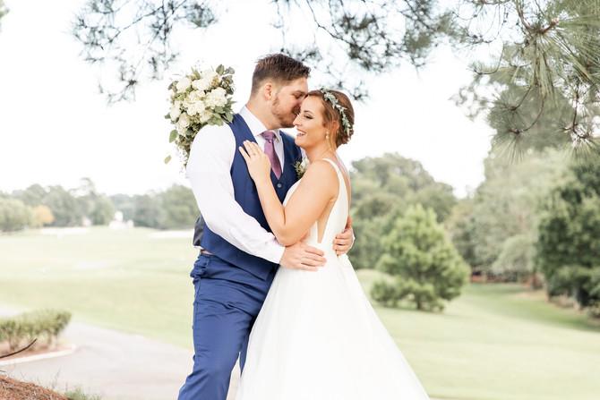 Abe and Rachel Married | Kiln Creek Golf Club and Resort