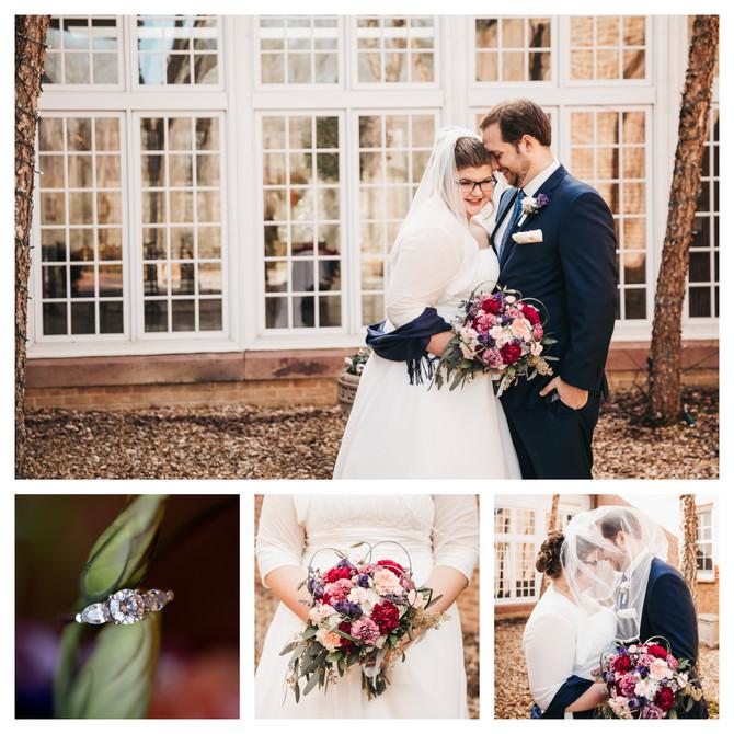 Jake + Elizabeth | Married | St. Bede Catholic Church