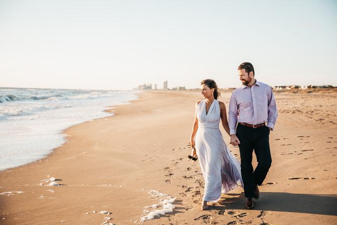 Flora & Will | Engagements | Virginia Beach Oceanfront