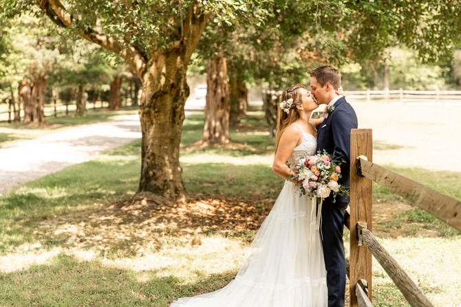 Casey and Katie | Seven Springs Wedding