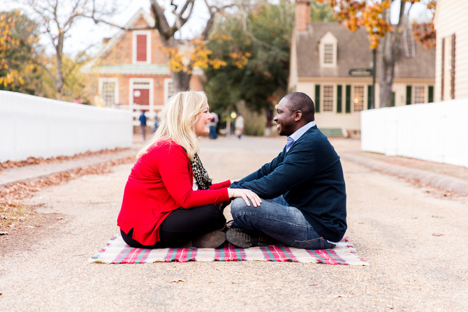 Megan and Zack   Engagements   Colonial Williamsburg
