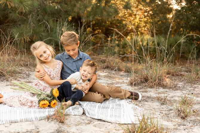 The Brunner Family | Fall Family Session | Virginia Beach, Virginia