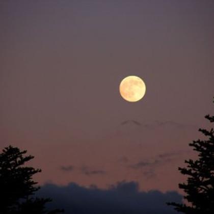 Lever de pleine Lune le 22 août