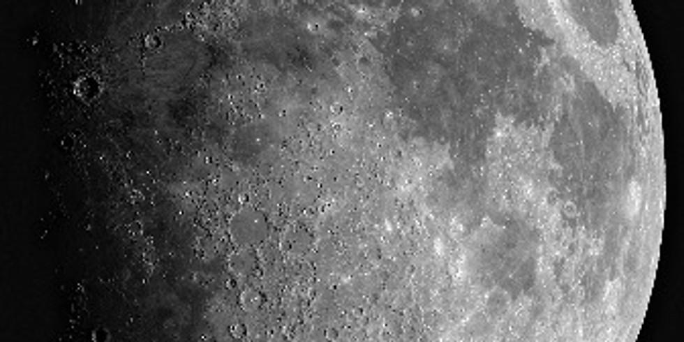 Soirée d'observation de la Lune à 20h le 19 juin
