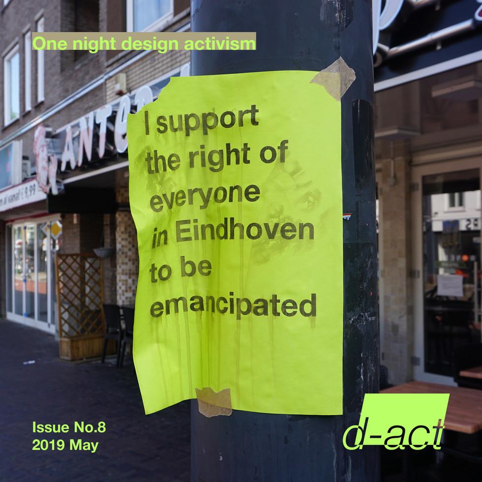 #8 One night design activism