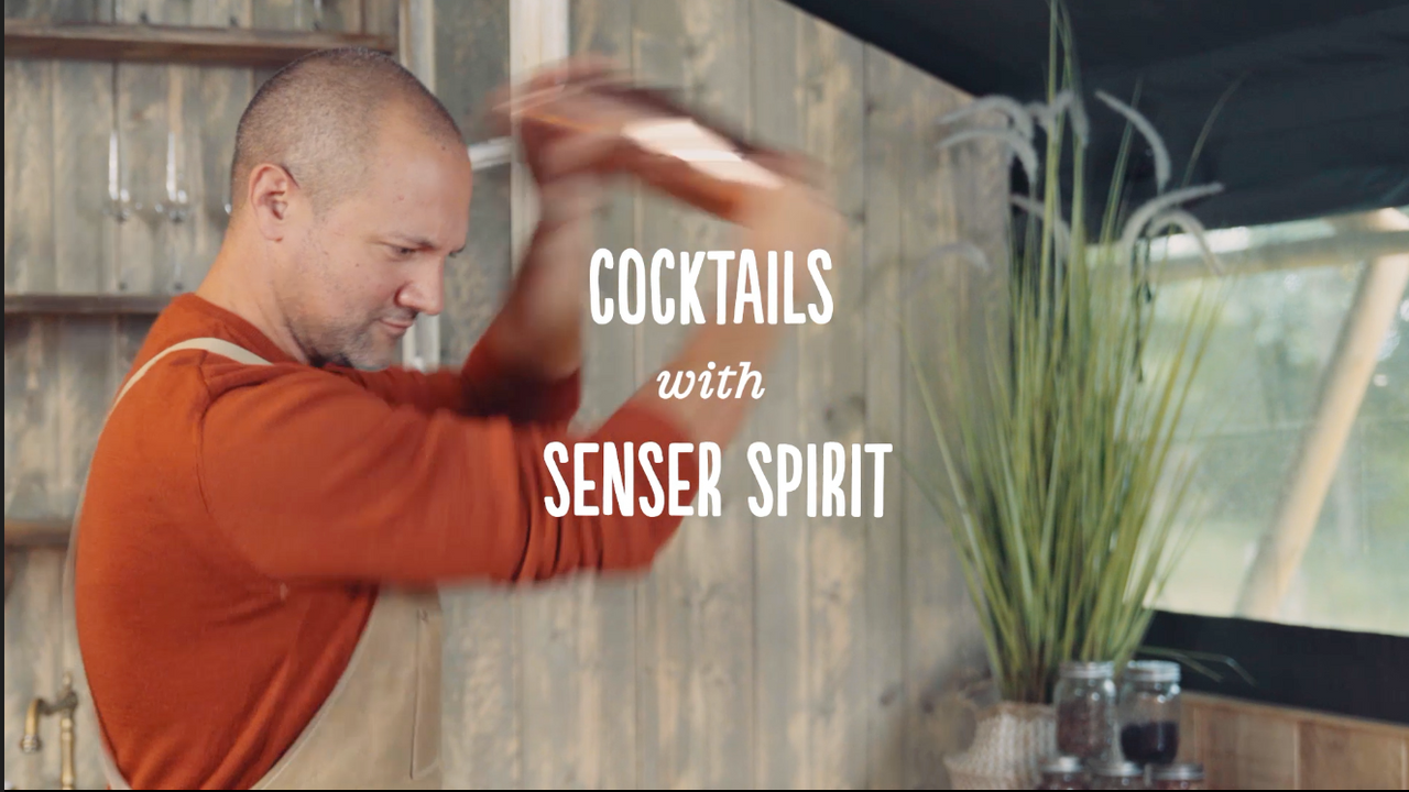 Cocktails with Senser Spirit