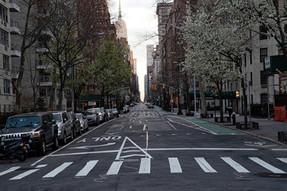 The Empty Streets of New York City