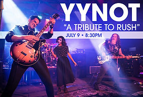 YYNOT Band 'A Tribute to RUSH'