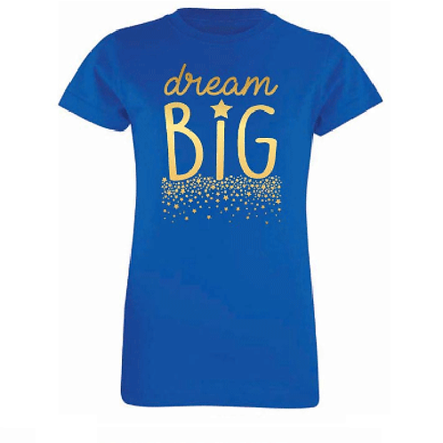 Dream Big Girl's Tee