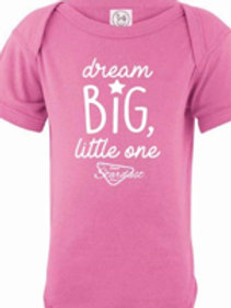 Raspberry Dream Big Onesie