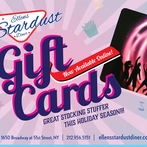 Stardust Gift Card - $50.00