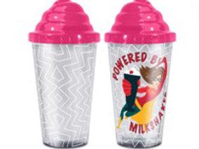 Powered by Milkshakes Superhero Girl Straw Cup
