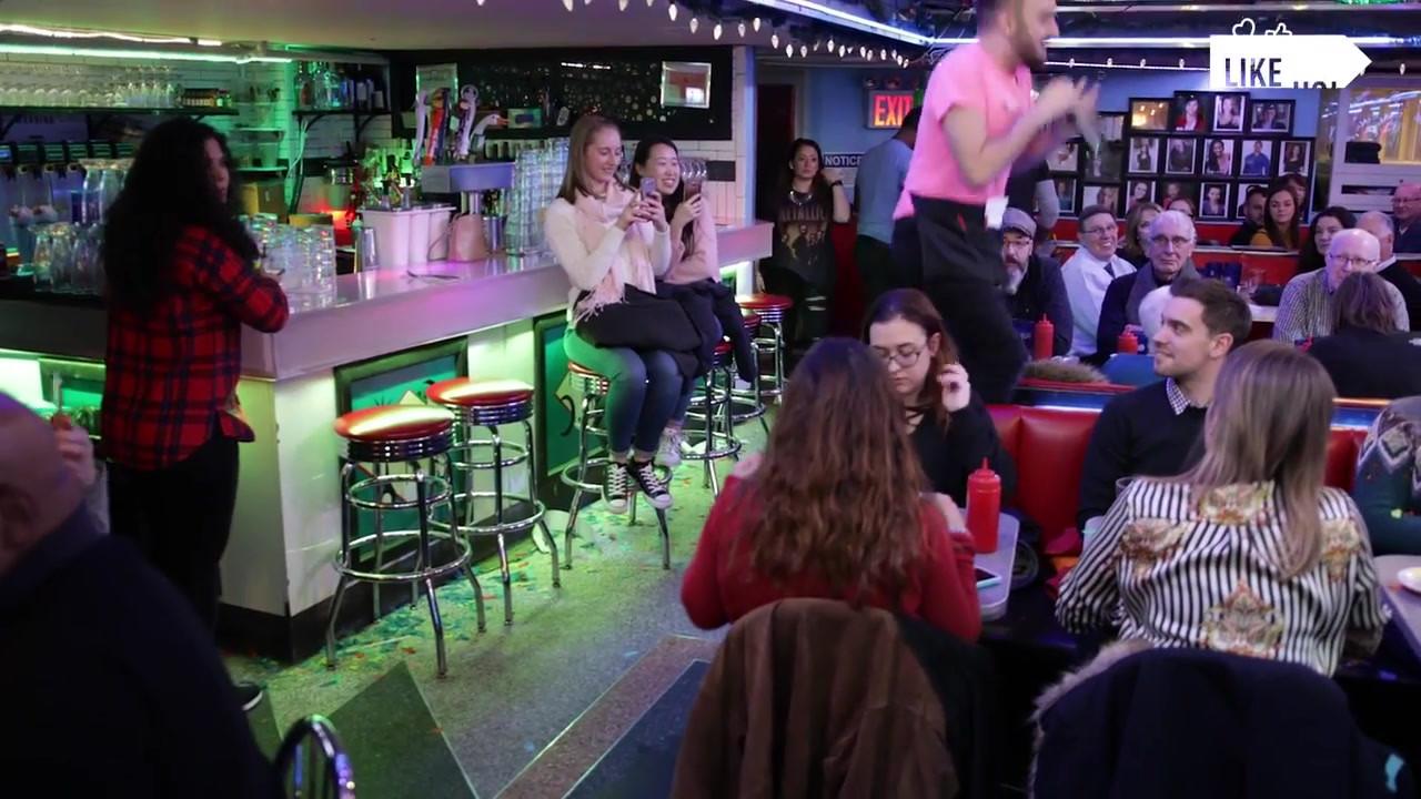 Ellen's Stardust Diner in New York City