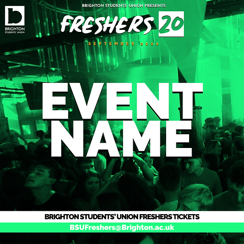 THE FRESHERS RAVE - HEADLINER TBA