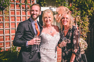 Wedding photography in Yarm