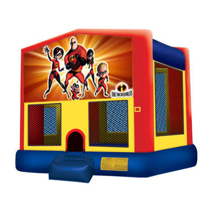 The Incredibles Bouncy Castle