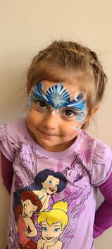 Maria's face painting