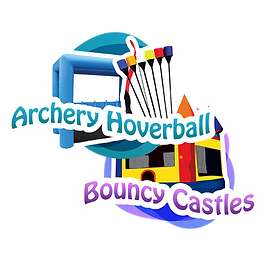 bouncy castles, archery tag rentals