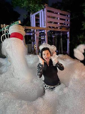 Night foam party