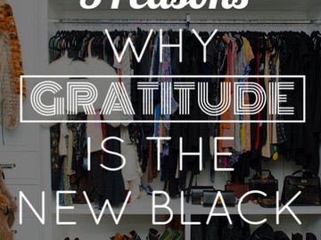 5 Reasons Why Gratitude is the New Black
