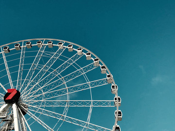 Life is a wheel, keep on spinning