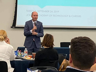 Jordan Education Foundation hosts 3rd Annual Southwest Salt Lake County Economic Summit.