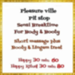 Miss Monroe Massage Parlor/Massage Menu/tarieven